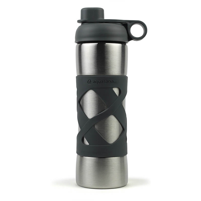 Stainless Steel Insulated Filter Bottle Aquasana Water