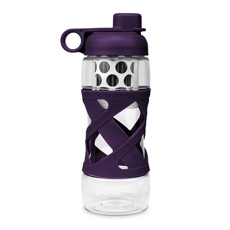 Plastic Filter Bottle With Sleeve Aquasana Water Filters